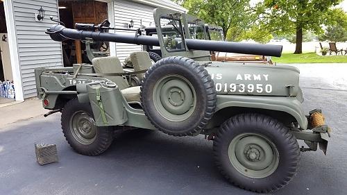 Pakistani Army M38a1 106mm RCL Jeep - MLU FORUM