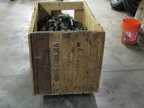 Found/for sale 2 WW2 Ford V8's in crate - MLU FORUM