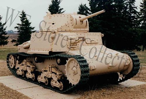 Click image for larger version  Name:C233-8 Italian Fiat-Ansaldo M14-41 - CFB Wainwright, Alberta copy.jpg Views:1 Size:503.4 KB ID:114762