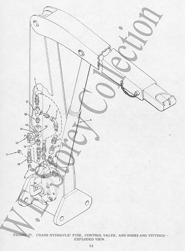 Click image for larger version  Name:Figure 27 Crane Hyraulic Fuse, Control Valve, and Hoses and Fittings - Exploded View copy.jpg Views:0 Size:709.3 KB ID:103382