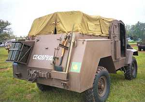 The C15TA Armoured Truck